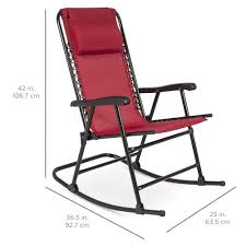 Best Choice Products Folding Rocking Chair Foldable Rocker Outdoor ... Folding Rocking Chair Foldable Rocker Outdoor Patio Fniture Beige Outsunny Mesh Set Grey Details About 2pc Garden Chaise Lounge Livingroom Club Mainstays Chairs Of Zero Gravity Pillow Lawn Beach Of 2 Cream Halu Patioin Gardan Buy Chairlounge Outdoorfolding Recling 3pcs Table Bistro Sets Padded Fabric Giantex Wood Single Porch Indoor Orbital With