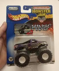 100 Monster Truck Maniac Hot Wheels Mattel Wheels Jam 21 Metal Collection NIP