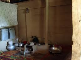 Kitchen Inside A Rural Home In Pakistan Administered Kashmir