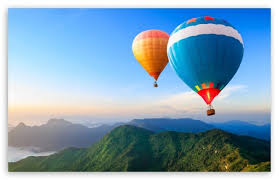 Download Travel The World Hot Air Balloons HD Wallpaper