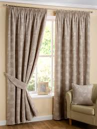 Thermal Lined Curtains Australia by Ava Floral Lined Curtains Natural Linen Ready Made Tape Top