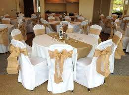 Burlap Chair Ties Sashes Cheap Used For Sale Rustic Wedding With