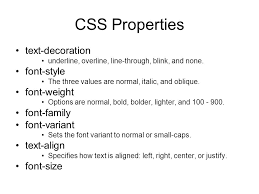 text decoration underline more space formatting text with html and css summary block level elements