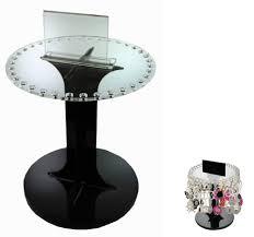 Black Rotating 36 Slot Display Stand