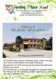 Contact Us – The Garden Place Hotel