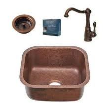 Elkay Copper Bar Sink by The Home Depot