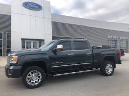 100 For Sale Truck Used 2017 GMC Sierra 2500HD Crew Cab Gray In