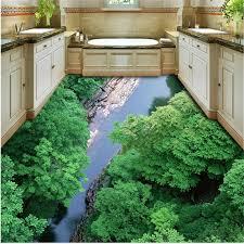 beibehang personalisierte benutzerdefinierten hintergrund 3d berg tianreng wasser creek dschungel badezimmer wohnzimmer tragen wasserdichte bodenbelag