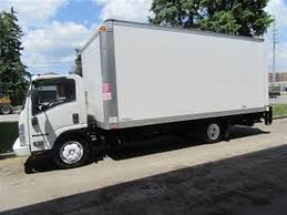 Used 2014 Isuzu NRR Diesel 20 Ft Alum Box + Power Lift Gate For Sale ...
