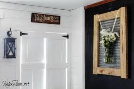 A Farmhouse Frame With An Industrial Vibe
