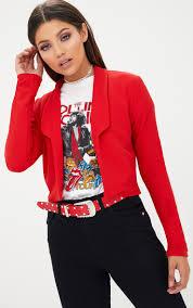 women u0027s blazers smart u0026 cropped blazer prettylittlething