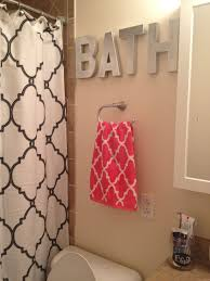 Tahari Curtains Home Goods by Spray Painted Hobby Lobby Letters Tj Maxx Shower Curtain And