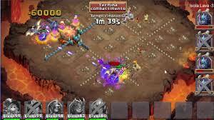 Pumpkin Duke Castle Clash Hack by Castle Clash Lava Isle 3 New World Record Time 1 Min 21 Sec By