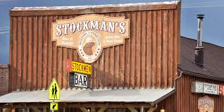 100 Stockmans Truck Stop White Sulphur Springs Stockman Bar Into The Little Belts