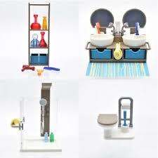 details zu playmobil puppenhaus villa haus badezimmer bad einrichtung bathroom