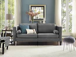 Armen Living Barrister Sofa Green Velvet by Furniture Tufted Sectional Couch Couches And Sofas Grey