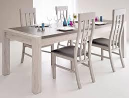 expendio tischgruppe marten 7 grau steinoptik tisch 4x stuhl