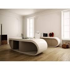 fabricant de mobilier de bureau bureau de direction goggle blanc brillant et gris par babini