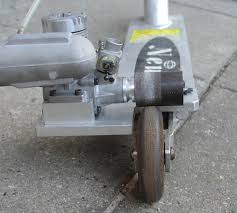 Metanol Engine Glowplug Motor Powered Scooter Homemade