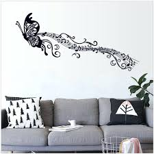 Music Note Wall Decal Online Shop Butterfly Art Removable Sticker Decor Kids