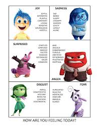 Inside Out Movie Activities