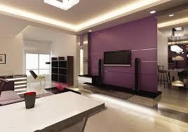 living room living room interior design idea with light purple