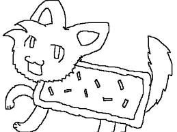Search Projects Studios Batmanguy84 Nyan Cat Coloring Contest