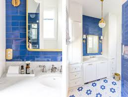 Polished & Stunning Sapphire Blue Tile Design For A Small Bathroom ... Small Bathroom Flooring Ideas Your Best Options Lets Remodel Design 22 Storage Wall Solutions And Shelves To Try For A Space That Pops Real Simple How To Make A Look Bigger Tips Remodels For Bathrooms Prairie Village Kansas Better Homes Gardens Perths Renovations Wa Assett Tiny Triumph 30 Of The Interior Toilet Plan Tight Ten Tiles Spaces Porcelain Superstore