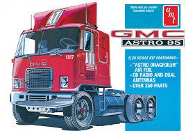 100 Model Semi Truck Kits 125 AMT GMC Astro 95 Tractor Cab Kit News Reviews