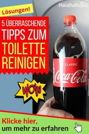 toilette reinigen hausmittel gegen kalk und urinstein
