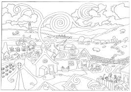 Winter Coloring Pages Adults New
