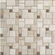 American Olean Mosaic Tile Canada by Instant Mosaic Backsplashes U0026 Wall Tile Lowe U0027s Canada