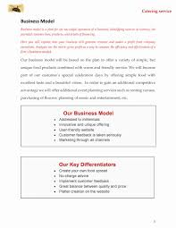Catering Business Plan Template From Home Lovely Food Cart Trucks ...