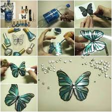 Incredibly Cool Crafts Using Nail Polish Butterfly Arts And Fun Foam Cup Craft