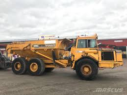 Used Volvo A25C Dismantled For Spare Parts Articulated Dump Truck ...