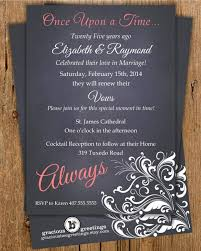 Once Upon A Time Vow Renewal Invitation