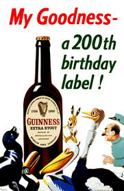 My Goodness A 200th Birthday Label By Gilroy 1959 England