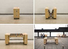 This Is Awsome A Foosball Table Folds Down To The Size Of Crate