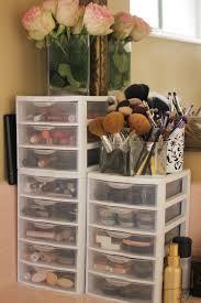 Over The Door Bathroom Organizer Walmart by 33 Creative Makeup Storage Ideas And Hacks For Girls Makeup