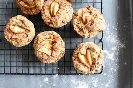 gesunde apfel zimt muffins