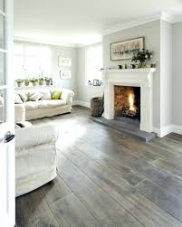 White Walls Gray Trim Affordable With Dark Wood Interior