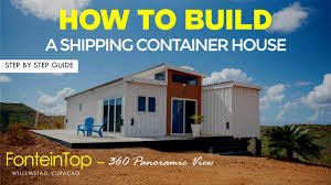 104 Building A Home From A Shipping Container How To Build House Step By Step Guide Youtube