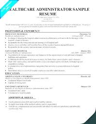 Secretary Sample Resume Examples Administrative Executive Objective Example Unit