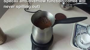 Electric Turkish Coffee Maker Nevery Spilling Out