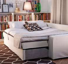 Friheten Corner Sofa Bed by Library By Day Guest Room By Night