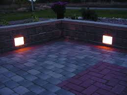 retaining wall with lights search yard