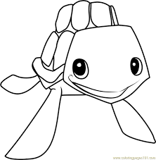 Animal Jam Arctic Wolf Coloring Pages