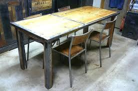 modele de table de cuisine modele de table de cuisine en bois gallery of table de cuisine