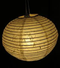 12 inch White mulberry paper lantern night light decor ball