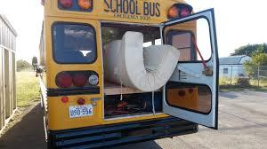 Skoolie Conversion Floor Plan by Bus Door Conversion U0026